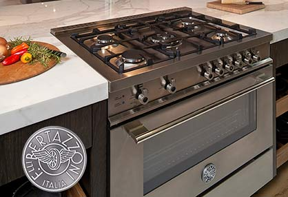 Appliance Master provides Bertazzoni Range repair services.