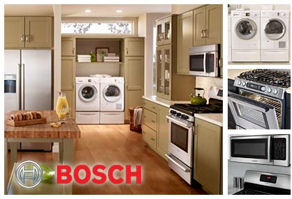 Appliance Master provides Bosch appliance repair services.