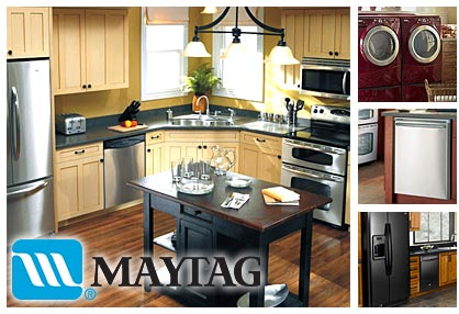 Appliance Master provides Maytag appliance repair services.