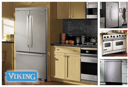 Appliance Master provides Viking appliance repair services.