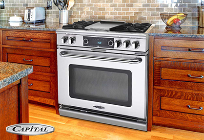 Appliance Master provides Capital Appliance repair services.