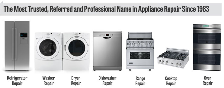 New Jersey and Eastern Pennsylvania Appliance Repair Service ...